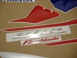 Honda 1000RR 2005 red EU complete sticker kit