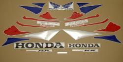 Honda 1000RR 2005 Fireblade red adhesives set