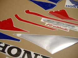 Honda 1000RR 2005 red EU full decals kit