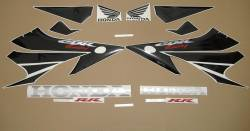 Honda 1000RR 2004 grey labels graphics