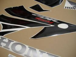 Honda 1000RR 2004 grey full decals kit