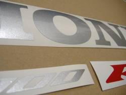 Honda 1000RR 2004 Fireblade gray logo graphics