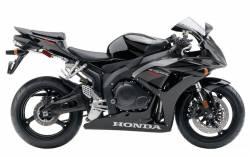 Honda 1000RR 2007 black US labels graphics