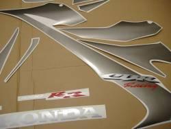 Honda CBR 1000RR SC57 2007 black decals kit