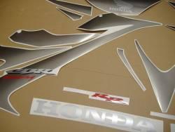 Honda 1000RR 2007 Fireblade black logo graphics
