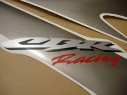 Honda 1000RR 2007 Fireblade black adhesives set