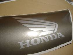 Honda 1000RR 2007 SC57 black stickers set