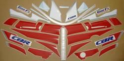 Honda 600 F2 1991 white full decal set