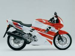 Honda CBR 600 F2 1991 white decals kit