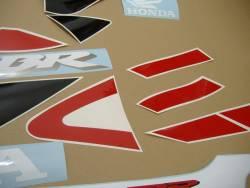 Honda 929RR 2001 Fireblade red adhesives set