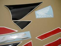 Honda 929RR 2001 SC44 red stickers set