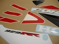Honda 929RR 2001 red complete sticker kit