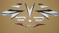 Honda 1000RR 2012 red complete sticker kit