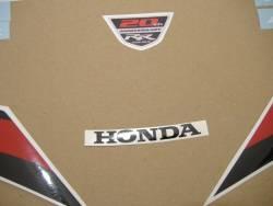 Honda CBR 1000RR 2012 red stickers kit