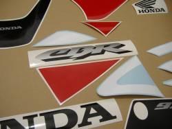 Honda 929RR 2001 white complete sticker kit