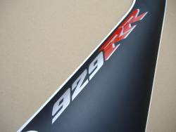Honda CBR 929RR SC44 2001 white decals kit