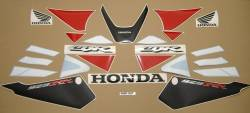 Honda 929RR 2001 white labels graphics