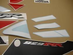 Honda 929RR 2001 SC44 white decals