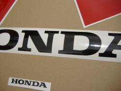 Honda 929RR 2001 Fireblade white logo graphics