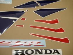 Honda 600RR 2005 red adhesives set