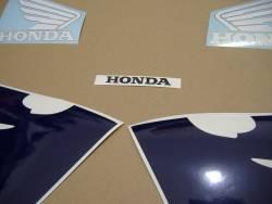 Honda CBR 600RR 2005 red decals kit