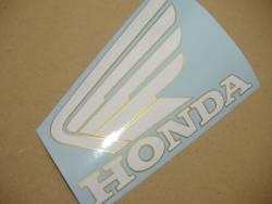 Honda CBR 600RR 2005 red logo graphics