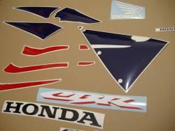 Honda CBR 600RR 2005 red decals