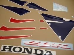 Honda 600RR 2005 red complete sticker kit