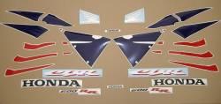Honda CBR 600RR 2005 red stickers kit