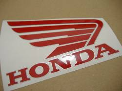 Honda 600RR 2005 black full decals kit