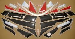 Honda CBR 600 F2 1991 red labels graphics