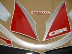 Honda CBR 600 F2 1991 red adhesives set
