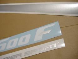 Honda CBR 600 F2 1992 HRC decals kit