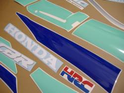 Honda CBR 600 F2 1992 HRC stickers set