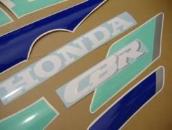 Honda 600 F2 1992 HRC restoration decals