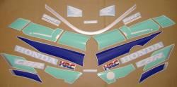 Honda CBR 600 F2 1992 HRC labels graphics