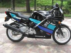 Honda 600 F2 1992 HRC restoration stickers
