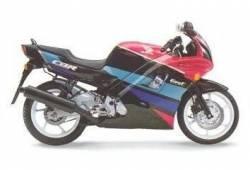Honda 600 F2 1991 black pink decals