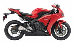 Honda CBR 1000RR 2013 red decals