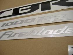 Honda CBR 1000RR 2013 red decals kit