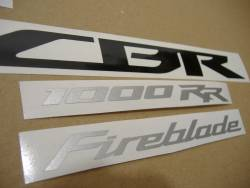 Honda 1000RR 2013 red complete sticker kit