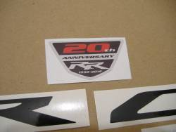 Honda CBR 1000RR 2013 red logo graphics