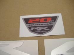 Honda CBR 1000RR 2013 black decals kit