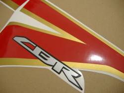 Honda 250R 2012 white complete sticker kit