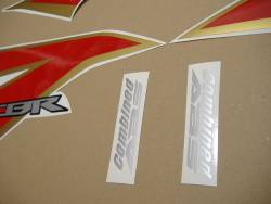 Honda CBR 250R 2012 white decals kit