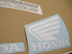 Honda 250R 2011 red complete sticker kit