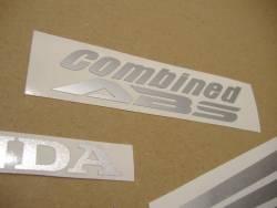 Honda CBR 250R 2012 black labels graphics