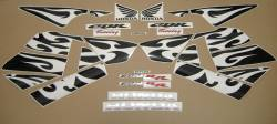 Honda CBR 600RR 2005 orange decal set