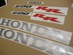 Honda CBR 600RR 2005 orange logo graphics