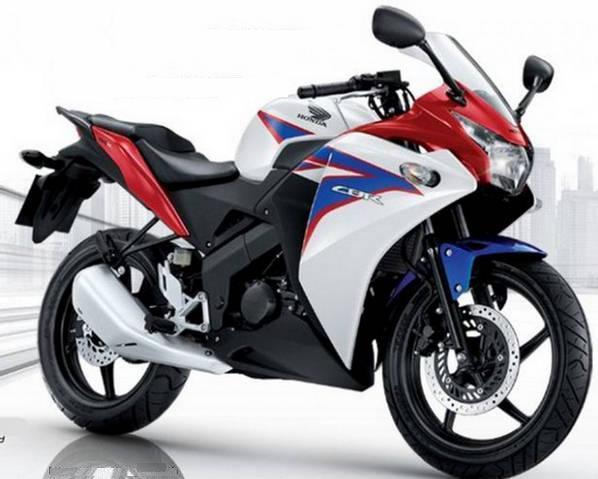Honda Cbr 150r 2012 Decals Set Full Kit Whiteblue Version